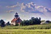 Building Photos - East Point Light House by Kevin  Sherf