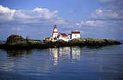 Head Harbour Lighthouse Prints - East Quoddy Head Lighthouse Print by Carol Barrington