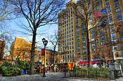East Village Photos - East Village at Christmas by Randy Aveille