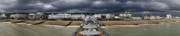 Dark Grey Posters - Eastbourne panorama Poster by Heiko Koehrer-Wagner