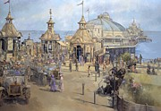 Seaside Metal Prints - Eastbourne Metal Print by Peter Miller