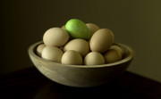 Wooden Bowl Prints - Easter Bowl Print by Kevin Felts
