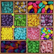 Multi Colored Photos - Easter Candies by Lisa Stokes