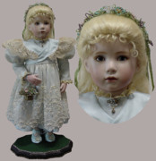 Child Ceramics - Easter Patricia by Shirley Heyn