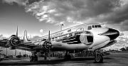 Eal Framed Prints - Eastern Airlines DC7B Framed Print by William Wetmore