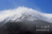 Blowing Snow Prints - Eastern Slopes of Mount Washington New Hampshire USA Print by Erin Paul Donovan