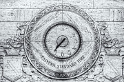 Analog Prints - Eastern Standard Time Print by Clarence Holmes