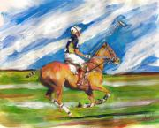 Sports Pastels - Easy Gallop by Debora Cardaci