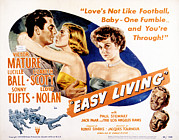 Sonny Prints - Easy Living, Victor Mature, Lizabeth Print by Everett