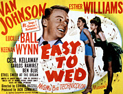 Two Piece Photos - Easy To Wed, Van Johnson, Esther by Everett