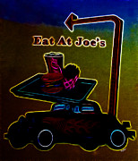 French Fries Metal Prints - Eat at Joes Metal Print by Cheryl Young