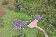 Custom Aerial - Eat Fire Spring Road Polpis Nantucket Island 6 by Duncan Pearson