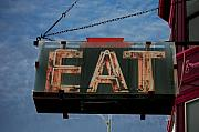 Old Diner Photos - Eat by Jame Hayes