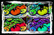 Salad Digital Art Prints - Eat Your Veggies Print by Mindy Newman