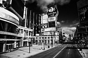 Large Scale Photo Prints - Eaton Centre At The Intersection Of Yonge And Dundas At Yonge-dundas Square Toronto Ontario Print by Joe Fox