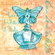 Bathroom Paintings - Eau de Toilette by Debbie DeWitt