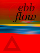 Haze Digital Art Prints - Ebb and Flow Print by Horacio Martinez