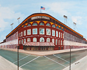 Ebbets Prints - Ebbets Field Print by Paul Cubeta