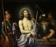 Bound Framed Prints - Ecce Homo  Framed Print by Pierre Mignard