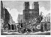 French Revolution Prints - Ecclesiastical Property Print by Granger