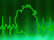 Contraction Posters - Ecg And Heart Outline Poster by Pasieka