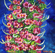 Pride Paintings - Echium by Raette Meredith