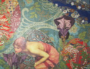 Color Symbolism Originals - Echo In The Wildwood by Kanchan Mahon