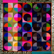 Featured Tapestries - Textiles Framed Prints - Eclipse Framed Print by Marilyn Henrion