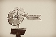 Eclipse Windmill 3578 Print by Michael Peychich