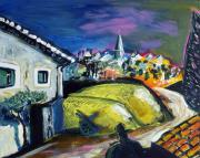 South Of France Painting Originals - Ecole provencale by Philippe Abril