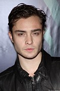 School Of Visual Arts (sva) Theater Posters - Ed Westwick At Arrivals For The Poster by Everett