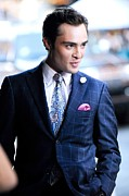 Tie Pin Posters - Ed Westwick, Films A Scene Poster by Everett