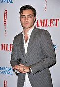 Ed Prints - Ed Westwick In Attendance For Hamlet Print by Everett