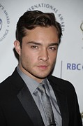 The Duke Prints - Ed Westwick  In Attendance For The Duke Print by Everett