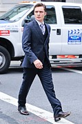 Celebrity Candids - Monday Posters - Ed Westwick, Walks To The Gossip Girl Poster by Everett