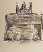 Cleveland Indians Mixed Media - Eddie Murray-Hall Of Fame by Paul Jira