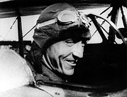 Aviator Photos - Eddie Rickenbacker, World War I Flying by Everett