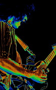 Van Halen Art - Eddie Rocks Cosmic Spokane by Ben Upham