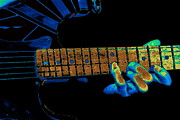 Van Halen Art - Eddies Totally Cosmic Fingers by Ben Upham
