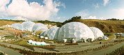 Geodesic Prints - Eden Project Print by David Parker