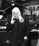 Gary Brandes Photo Acrylic Prints - Edgar Winter Acrylic Print by Gary Brandes
