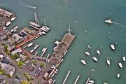 Edgartown Aerials - Edgartown Yacht Club Marthas Vineyard Massachusetts 2 by Duncan Pearson