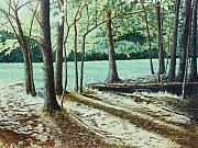 Tn Painting Prints - Edge of the Forest Print by Todd A Blanchard