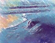 Edge Pastels - Edge of The Sea by Deborah MacQuarrie
