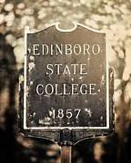 Pennsylvania State University Prints - Edinboro State College 1857 Print by Lisa Russo