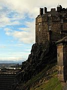 Abbott Prints - Edinburgh Castle Print by Amanda Barcon