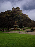Edinburgh Castle Print by Jeff Stein