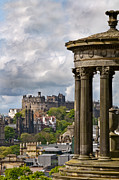 Hill Prints - Edinburgh Castle Print by Marion Galt