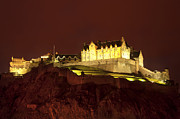 Vinatge Prints - Edinburgh Castle Print by Svetlana Sewell