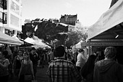 Edinburgh Art - Edinburgh Farmers Market On Castle Street Scotland Uk United Kingdom by Joe Fox